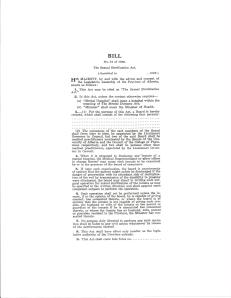 The Sexual Sterilization Act, Bill 51 of 1928_Page_1