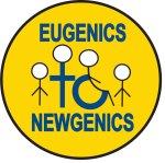 Eugenics to Newgenics logo